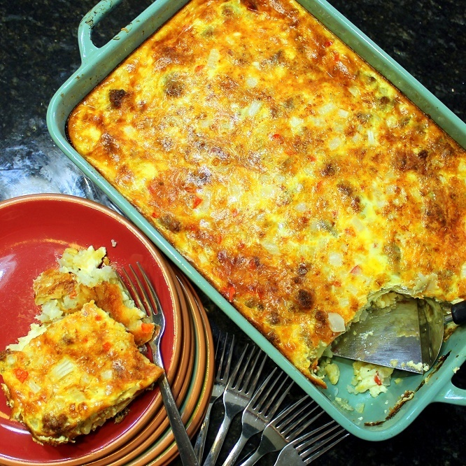 Pantry and Leftover MONEY SAVING Breakfast Casserole - 52 Breakfast Recipes