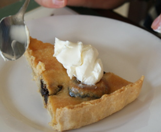Rick Stein's Prune and Almond Tart