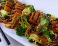 SUMA: Rocket & Roses New Year Good Luck Noodles (vegan, gluten-free, refined sugar free)