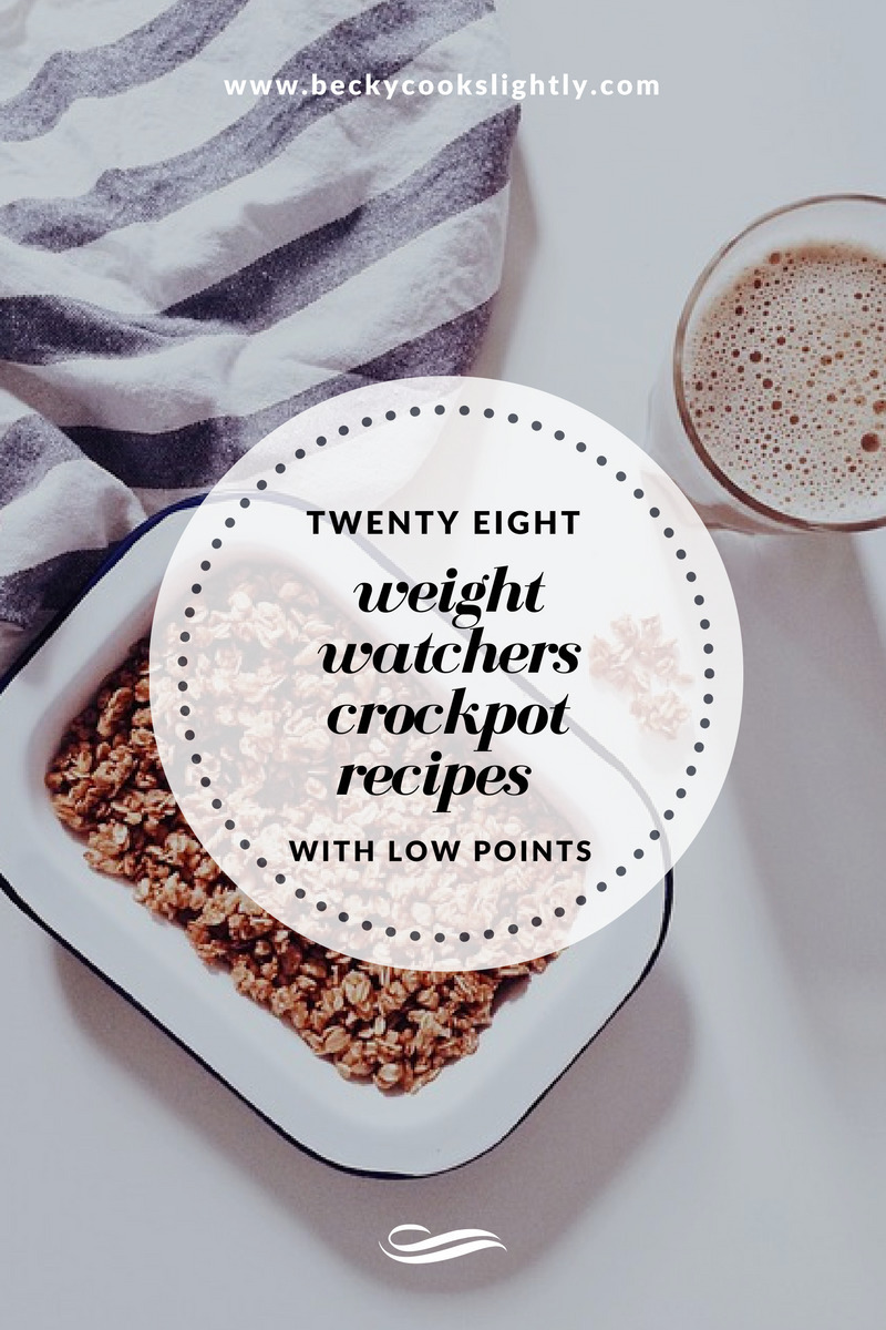 28 Weight Watchers Crockpot Recipes With Low Points