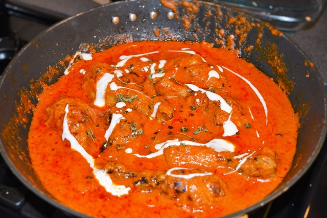Restaurant Style Butter Chicken and a New year Message for all of you