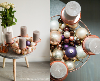 #DIYinspo - Adventskranz