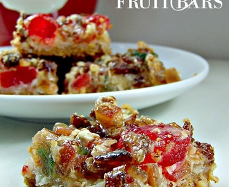 Festive Fruit Bars