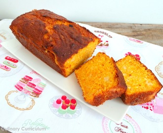 Cake orange et carottes (Orange and carrot cake)