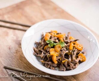 Paleo Orange Beef Stir Fry {AIP}