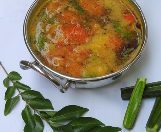 Adamant Creeper Rasam/Pirandai Rasam/Veldt Grape Indian Soup