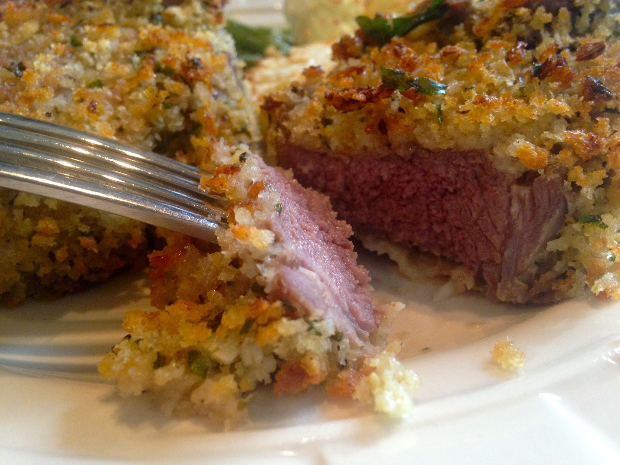 Herb Crusted Italian Lamb Chops