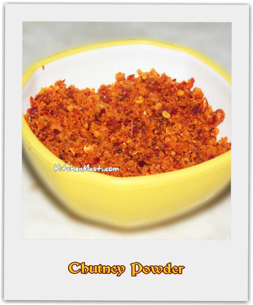 Groundnut Chutney Pudi ( Powder )