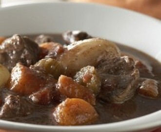 Slow Cooked Beef Chuck Steak Stew