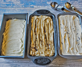 Homemade, no churn ice cream: 3 Ways