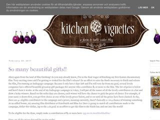 Kitchen Vignettes by Aubergine