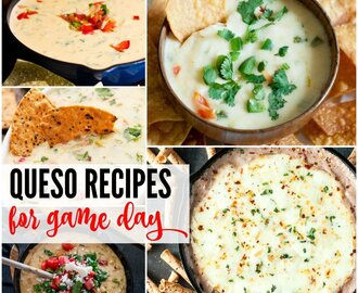 Queso Recipes for Game Day