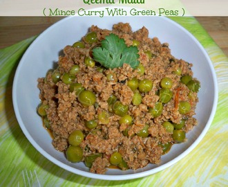 Qeema Matar ( Mince Curry With Green Peas )
