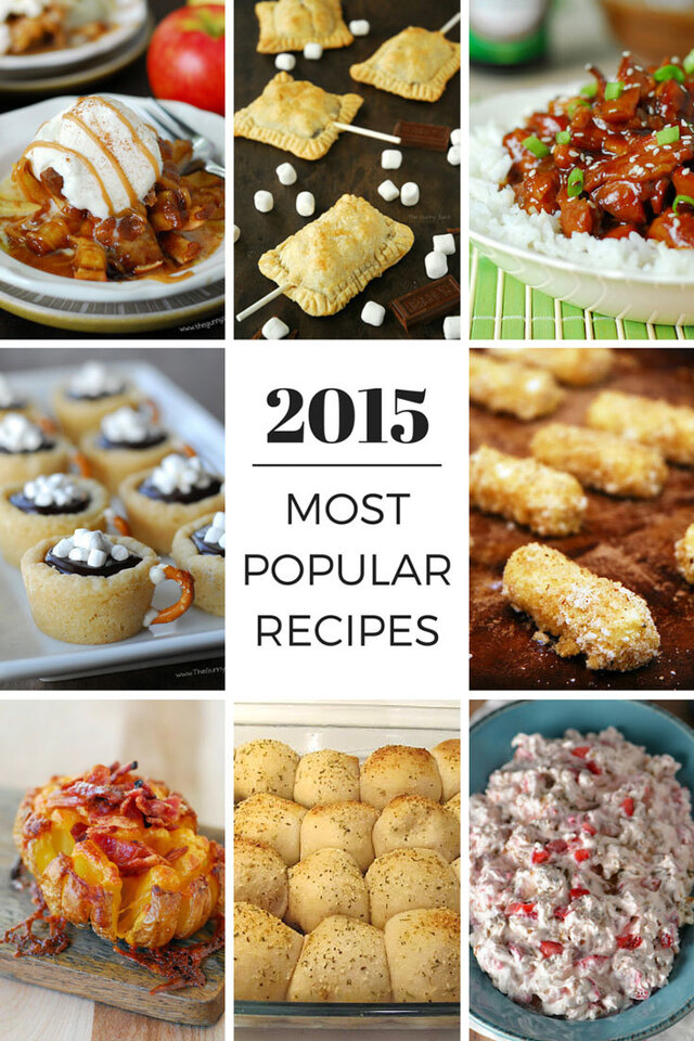 Most Popular Recipes From 2015