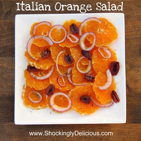 Italian Orange Salad for Christmas Eve