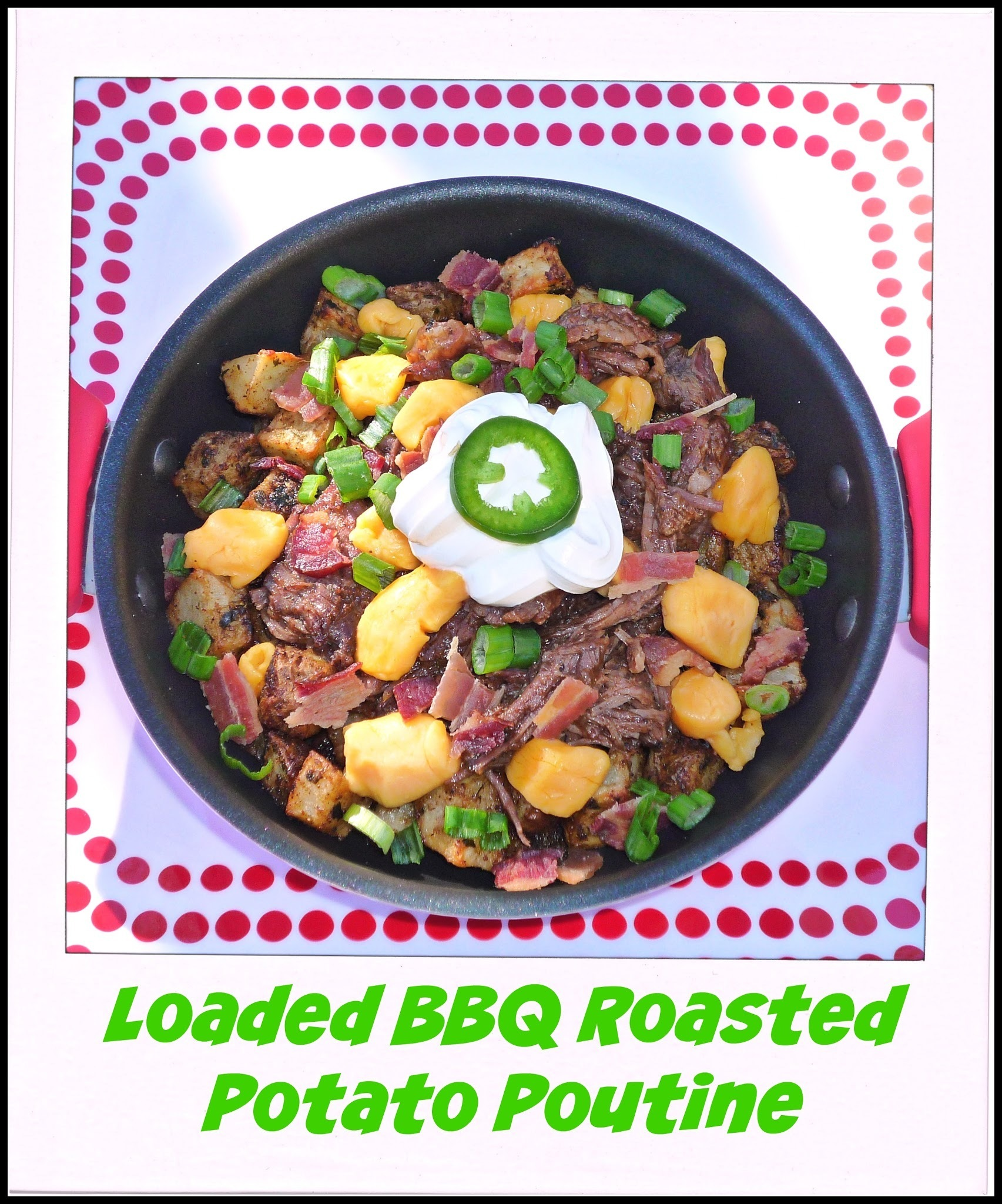 Idaho® Potatoes National Sunday Supper Day…Featuring Loaded BBQ Roast Potato Poutine #SundaySupper #FWCON #poutine