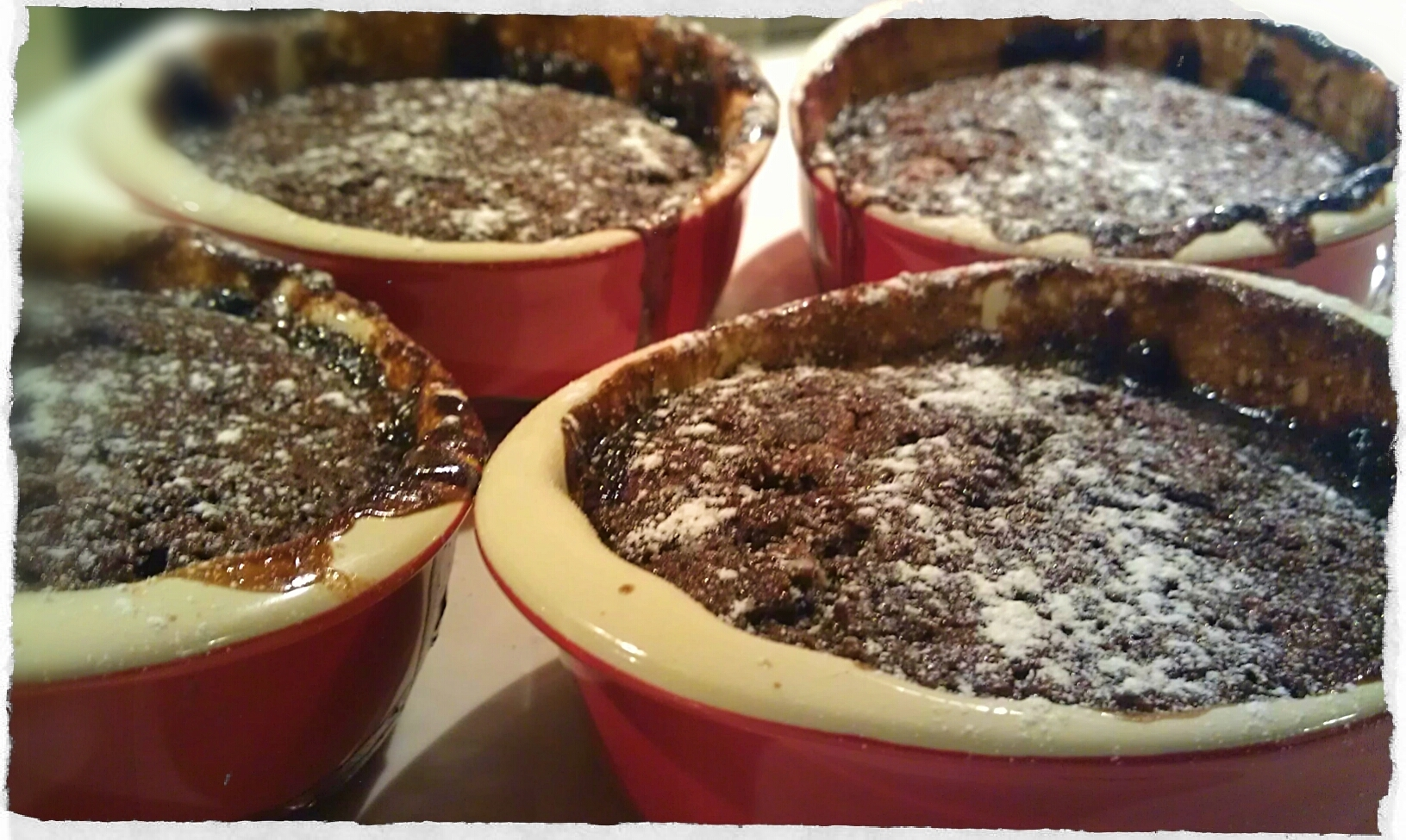 Decadent Chocolate Self-Saucing Puddings …