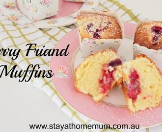 Berry Friand Muffins
