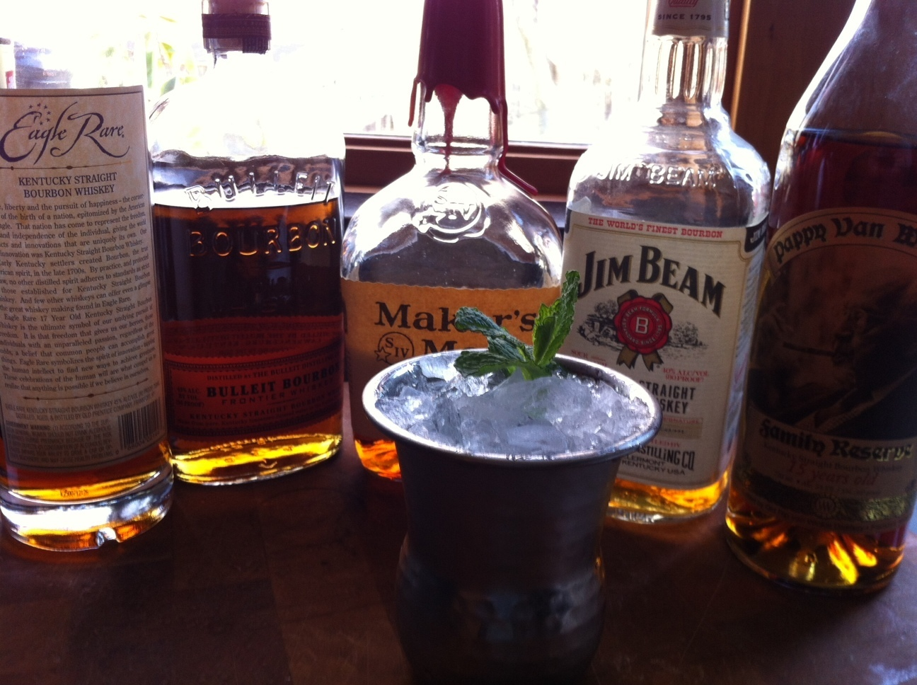 THE MINT JULEP: PERHAPS THE GREATEST BOURBON DRINK EVER