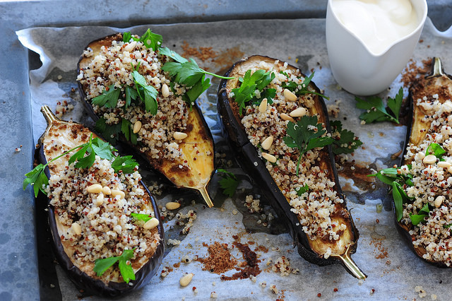 6 Healthy Ideas for Aubergine (Eggplant)