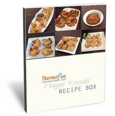 ThermoFun – FREE March Recipe Box – Finger Foods