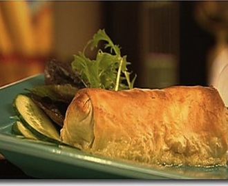 Chicken Filo Parcels