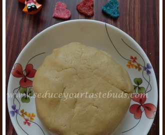 Eggless Basic Cookie Dough Recipe