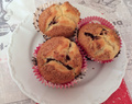 Muffin cœur nutella pralin