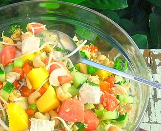 Thai Mango Chicken Salad