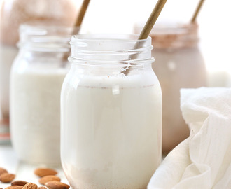 {VIDEO} How To Make Homemade Almond Milk – 3 Ways!