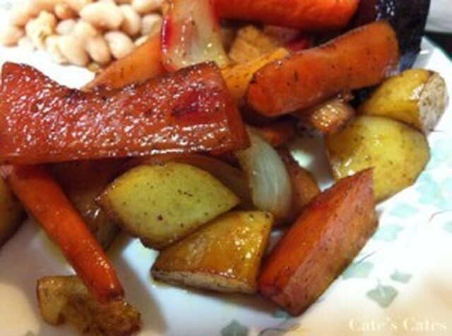 Recipe: Sweet and Sour Roasted Root Vegetables with Lemon Myrtle and Quinces