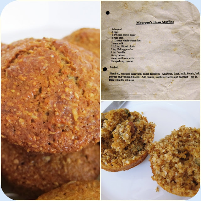 Recipe: Maureen's Bran Muffins