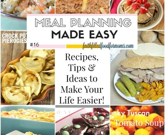 Meal Planning Made Easy #15