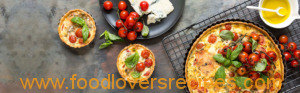 ROAST TOMATO AND BLUE CHEESE TART