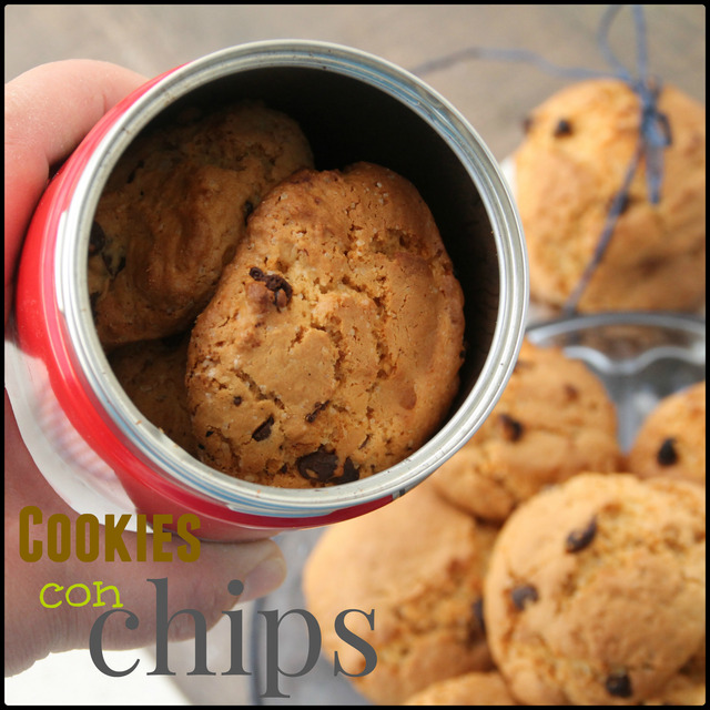 GALLETAS COOKIES CON CHIPS DE CHOCOLATE