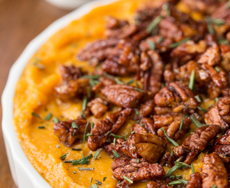 Healthy Sweet Potato Butternut Casserole