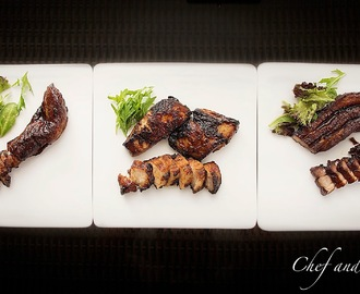 Homemade Char Siew Part IV - The different cuts