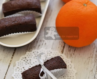 Chocolate Orange Miniature Loaves (Nigella Lawson)