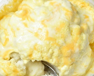 Easy Cheesy Cauliflower Recipe
