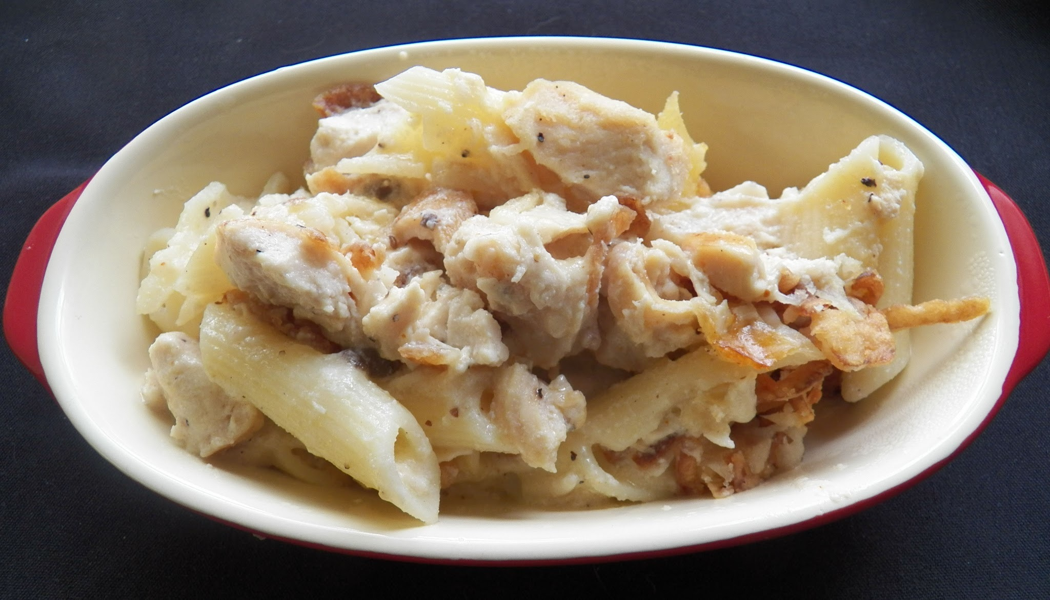 Cheeze Chicken Pasta Casserole