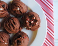 Day 3 of Twelve Days of Christmas Cookies: Chocolate Peppermint Pudding Cookies