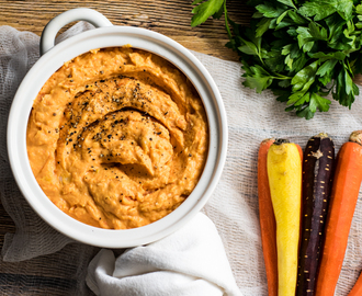 Roasted Garlic Mashed Sweet Potatoes and Carrots