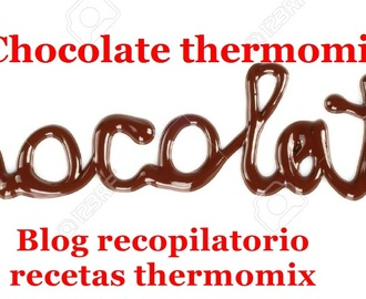 Chocolate un placer saludable con thermomix (recopilatorio)