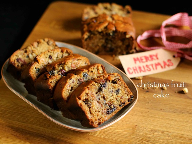 christmas cake recipe | fruit cake recipe | plum cake recipe