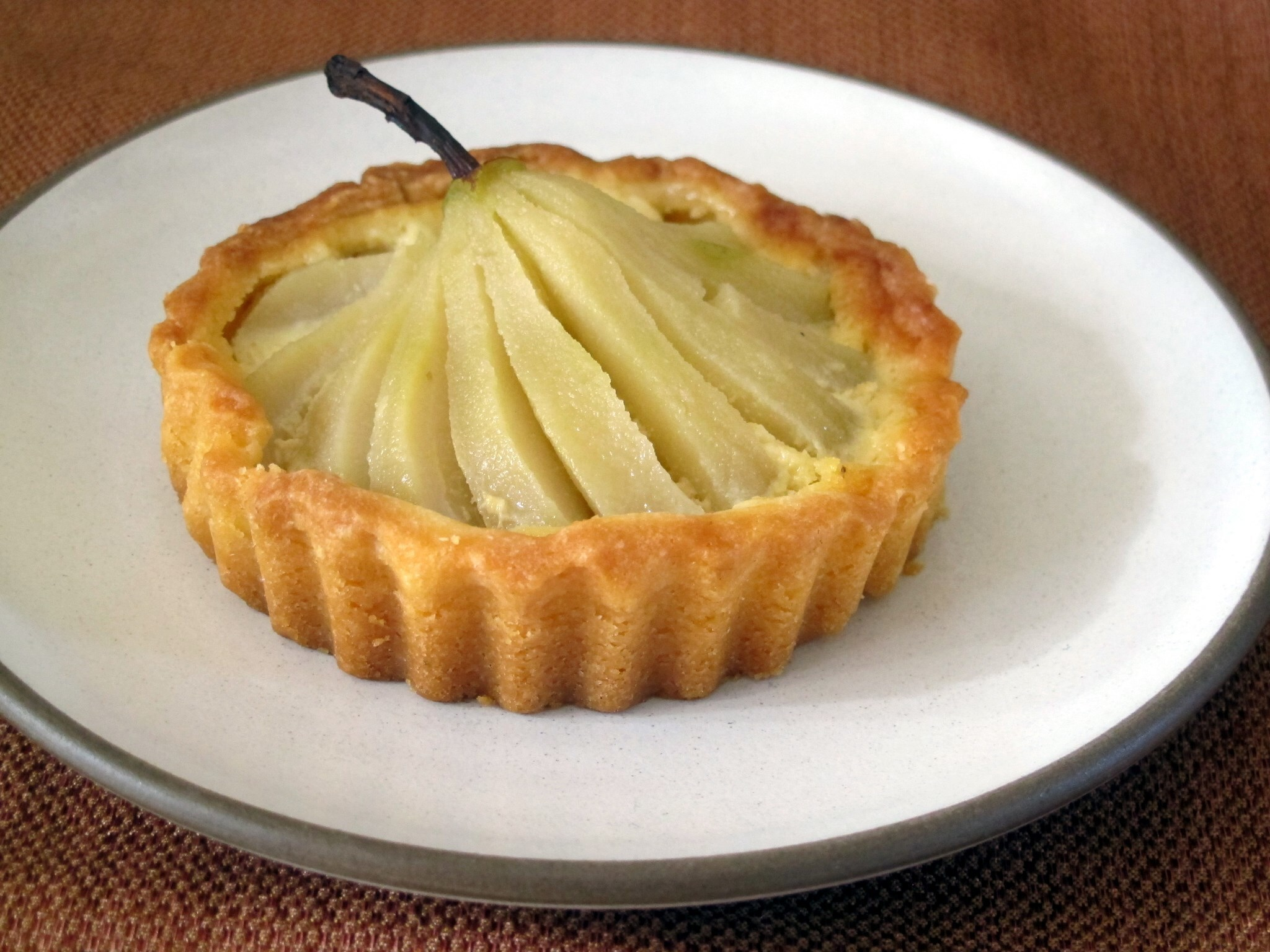Pear Tarts from Little and Friday