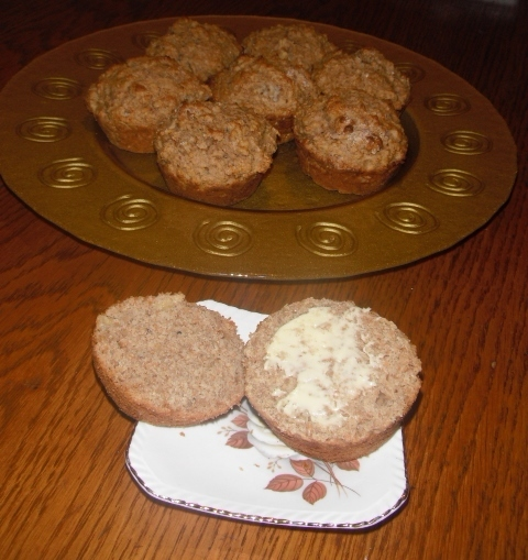 Mumseys' Wholemeal Fruit Salad Muffins