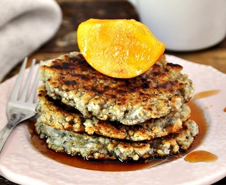 [Recipe] Almond Meal & Chia Seeds Pancakes, Flourless, Vegan Friendly & Gluten Free