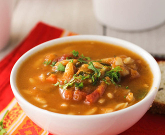 Easy Tomato and Orzo Soup