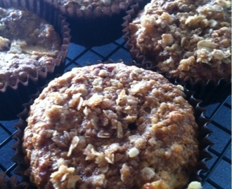 Nadia Lims Oaty Apple Crumble Muffins