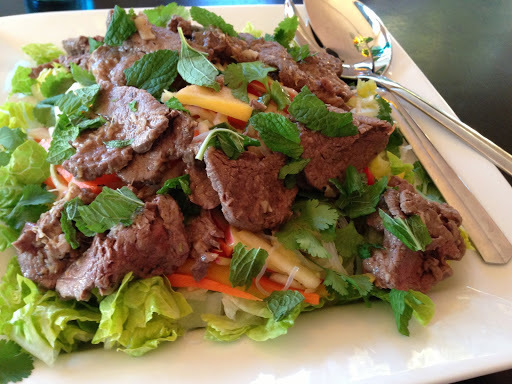 Vietnamese Beef and Noodle Salad